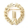 Gold Masonic Broken Column Badge