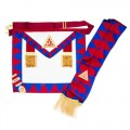 Royal Arch Principals Apron & Sash With Breast Jewel