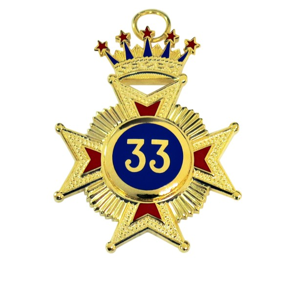 Rose Croix 33rd Degree Star