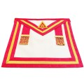 RA Irish Chapter Past Kings Apron no Fringe
