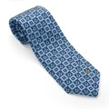Forget me Not Design Masonic Tie