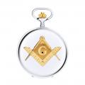 Hunter G127 CQ Masonic Pocket Watch