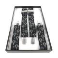 Black & Silver Masonic Braces
