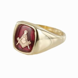 Masonic Gold Rings