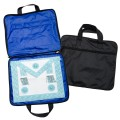 Quality Lightweight MM/WM Masonic Regalia Soft Case / Apron Holder Bag