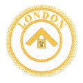 London Grand Rank Full Dress Apron Badge