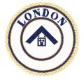 London Grand Rank Undress Apron Badge