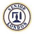 Senior London Grand Rank Undress Apron Badge