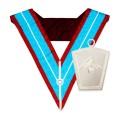 Masonic Mark Past Masters Collar with Past Masters Collar Jewel