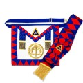Royal Arch Provincial Apron with Badge & Sash