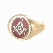 Masonic Reversible Head Rings