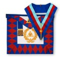 Royal Arch Grand Chapter Lambskin Apron & Collar