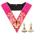 Masonic Rose Croix 18th Degree Collar & Jewel