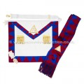 Royal Arch Companions Apron & Sash with Jewel