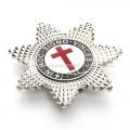 Knights Templar Breast Star