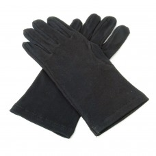 Black Cotton Knights Gloves