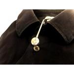 Freemasons Sterling Silver Craft Napkin Hook/Holder