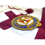 Knights Templar Preceptors Mantle with Badge