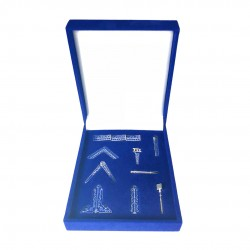 Masonic Freemasons Working Tools Set Miniature Gift Box size