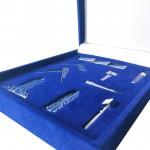 Masonic Freemasons Working Tools Set Miniature Gift Box size