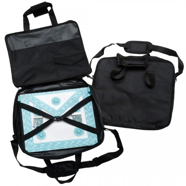 Masonic Grand Rank Regalia Soft Case / Apron Holder Shoulder Bag