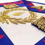 Royal Arch Grand Chapter Lambskin Apron & Collar