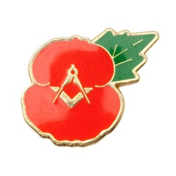 Masonic Poppy Badge
