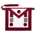 Provincial Stewards Lambskin Apron with Rossettes
