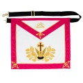 Masonic Rose Croix 18th Degree Apron
