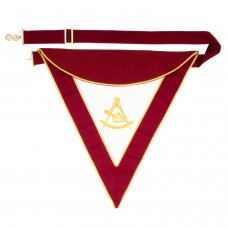 Royal and Select Masters Officer/Past Master Apron
