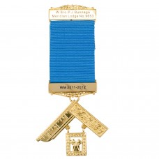 Craft Past Masters Breast Jewel with Engraved Details