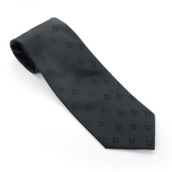 Freemasons Black Polyester Masonic Tie