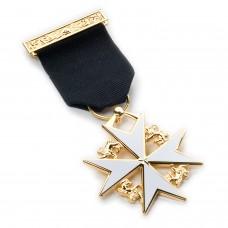 Masonic Knight of Malta Breast Jewel
