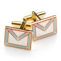 Mark Degree - Worshipful Master Apron Cufflinks