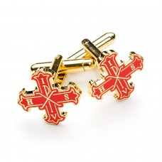 Red Cross of Constantine Masonic Cufflinks
