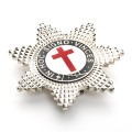 Knights Templar Breast Star