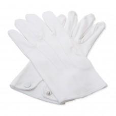 White 100 % Cotton Gloves