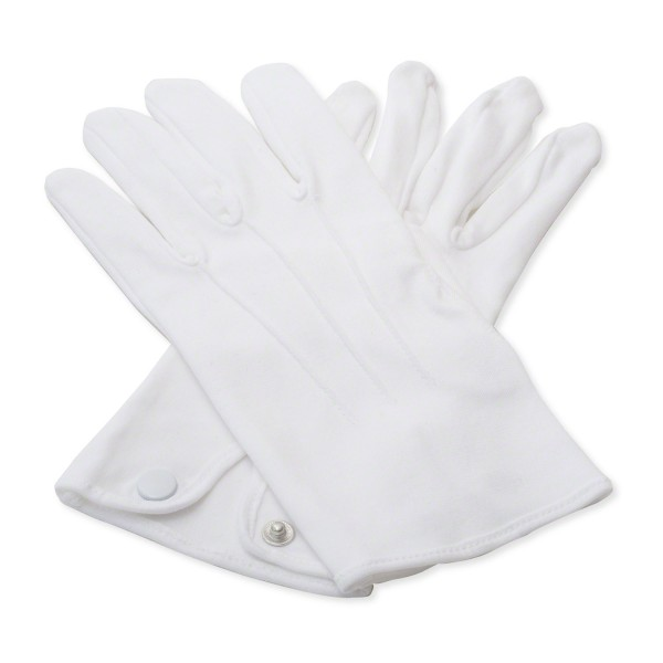 White 100 % Cotton Gloves